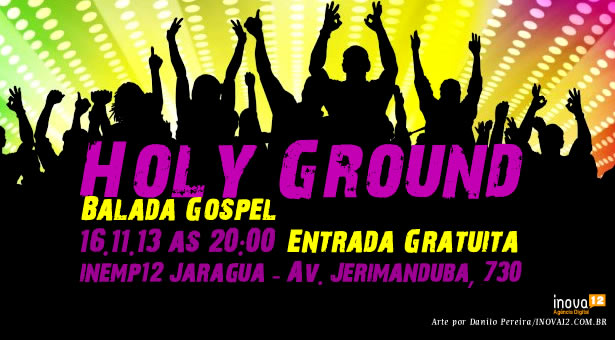 Holy Ground - Balada Gospel 16/11/13
