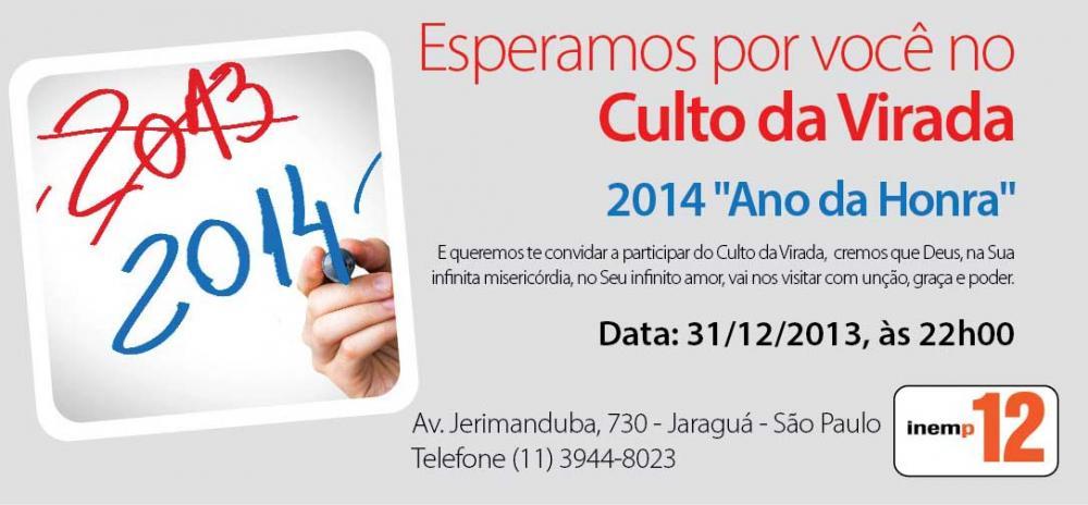 Culto da Virada 2013/2014