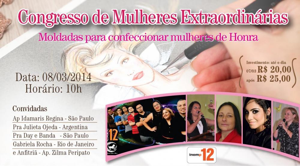 Congresso de Mulheres Extraordin�rias 2014