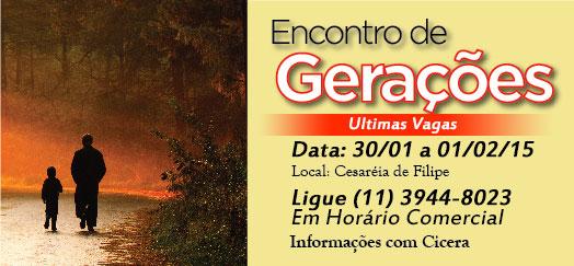 Encontro de Gera��es 30/01 a 01/02/15