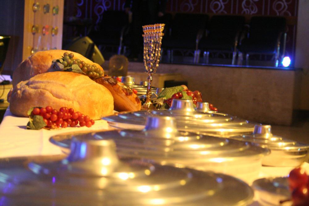 Resumo Culto (Santa Ceia) 20/12/15 - Fotos e Frases do Altar